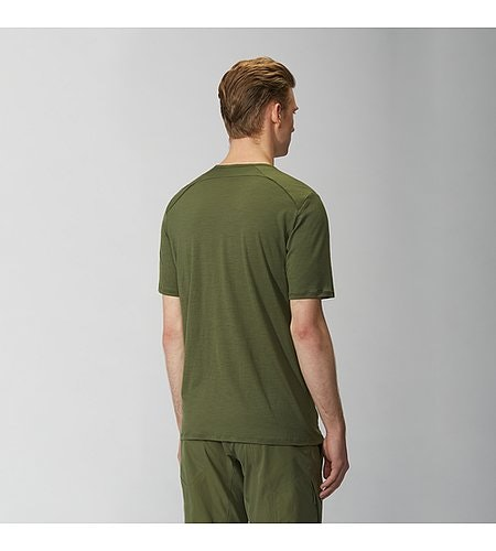 Frame Shirt SS Loden Back View