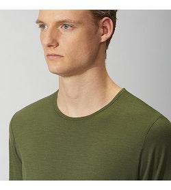 Frame Shirt SS Loden Neckline