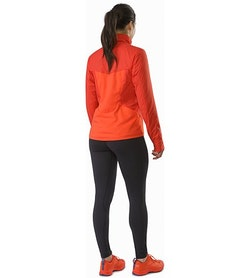 Gaea Jacket Women's Hard Coral Back View
