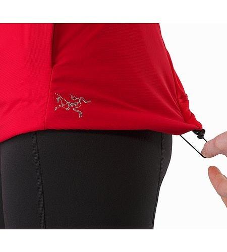 Gaea Jacket Women's Radicchio Hem Adjuster
