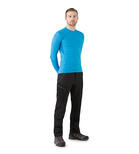 Gamma AR Pant Black Front View