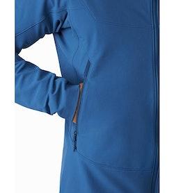 Gamma LT Hoody Cobalt Sun Hand Pocket
