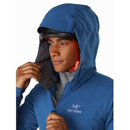 Gamma LT Hoody Cobalt Sun Helmet Compatible Hood