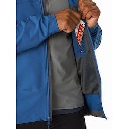Gamma LT Hoody Cobalt Sun Internal Pocket