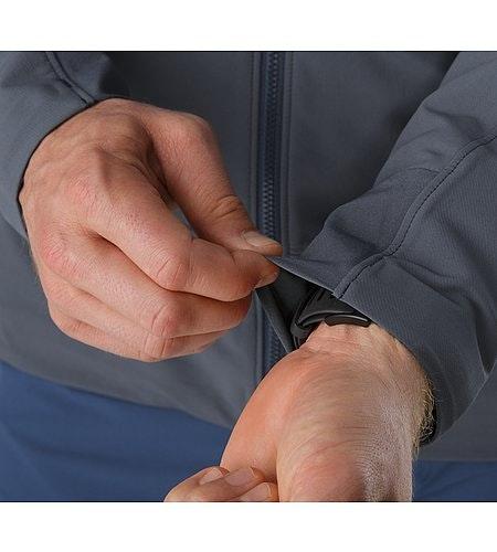 Gamma LT Hoody Heron Stretch Cuffs