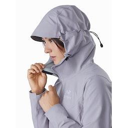 Gamma LT Hoody Women's Antenna Hood Side View