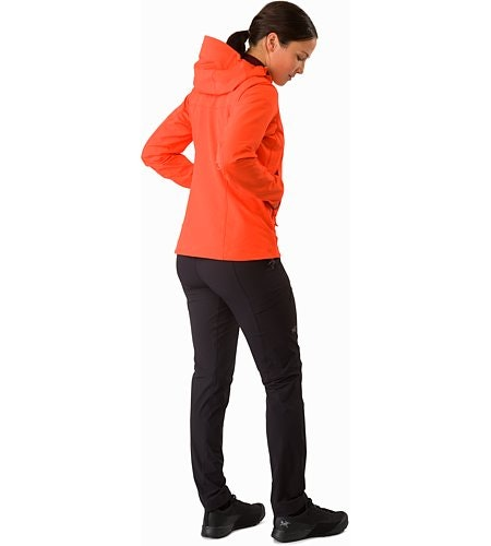 Gamma LT Hoody Women's Aurora Back View