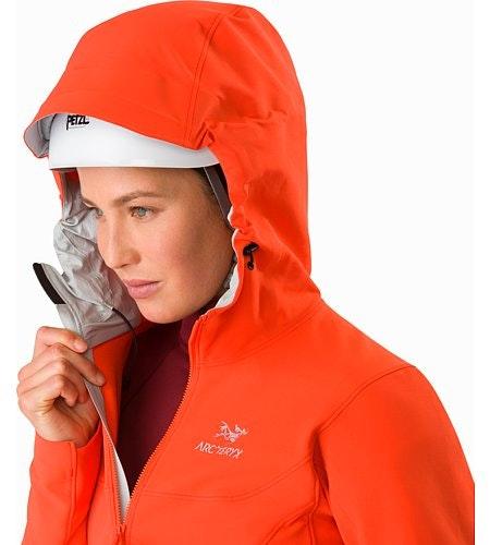 Gamma LT Hoody Women's Aurora Helmet Compatible Hood