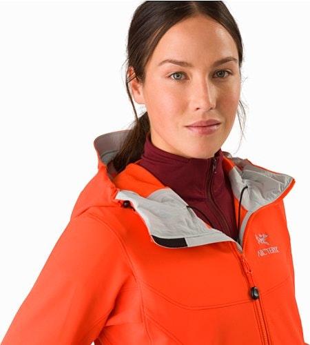 Gamma LT Hoody Women's Aurora Open Collar