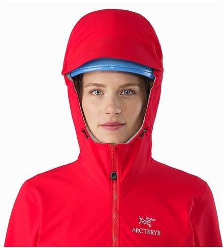 Gamma LT Hoody Women's Rad Helmet Compatible Hood Front View