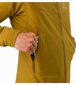 Gamma LT Hoody Yukon Hand Pocket