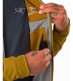 Gamma LT Hoody Yukon Internal Security Pocket