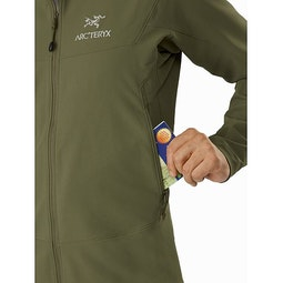 Gamma LT Jacket Arbour Hand Pocket