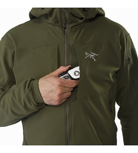 Gamma MX Hoody Gwaii Chest Pocket