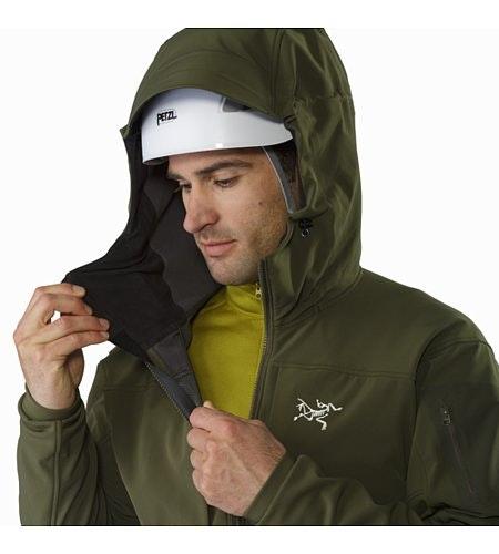 Gamma MX Hoody Gwaii Helmet Compatible Hood