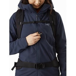 Gamma MX Hoody Women's Cobalt Moon Chest Pocket