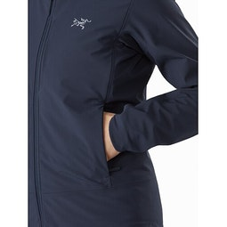 Gamma MX Hoody Women's Cobalt Moon Hand Pocket