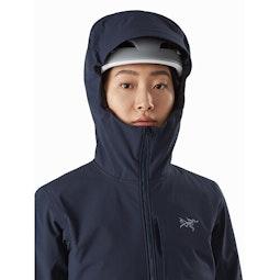 Gamma MX Hoody Women's Cobalt Moon Helmet Compatible Hood