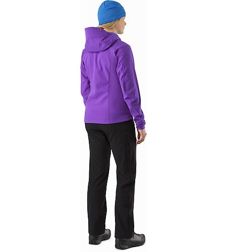 Gamma MX Hoody Women's Dahlia Back View 2