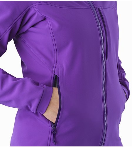 Gamma MX Hoody Women's Dahlia Hand Pocket 2