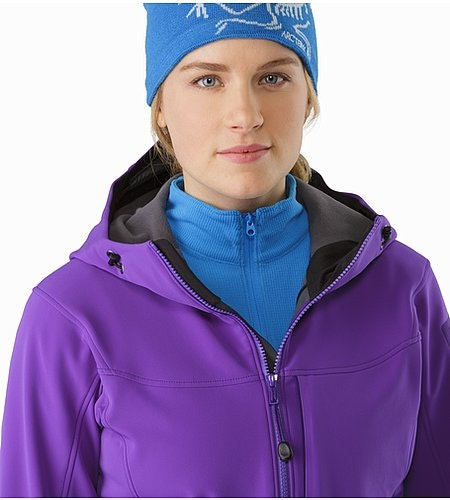 Gamma MX Hoody Women's Dahlia Open Collar 2