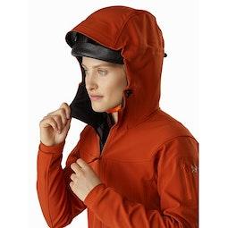 Gamma MX Hoody Women's Sunhaven Helmet Compatible Hood