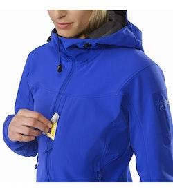 Gamma MX Hoody Women's Zaffre Chest Pocket