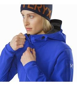 Gamma MX Hoody Women's Zaffre Collar