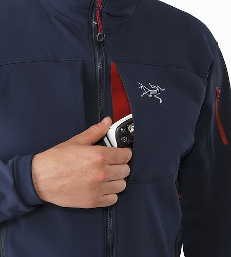 Gamma MX Jacket Admiral Chest Pocket