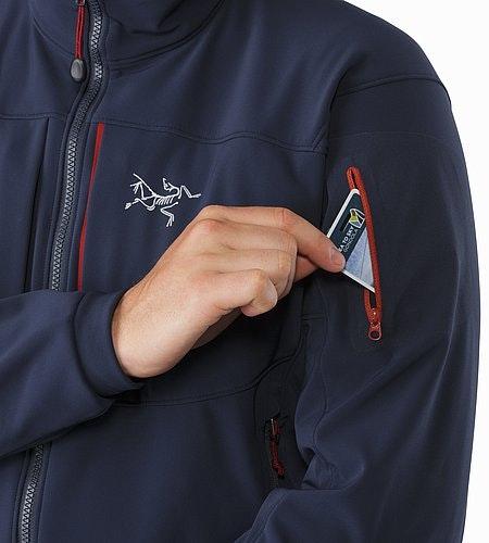 Gamma MX Jacket Admiral Ärmeltasche