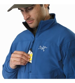 Gamma MX Jacket Hecate Blue Chest Pocket