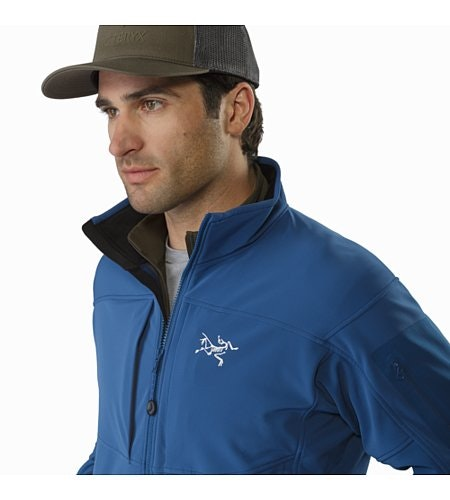 Gamma MX Jacket Hecate Blue Collar