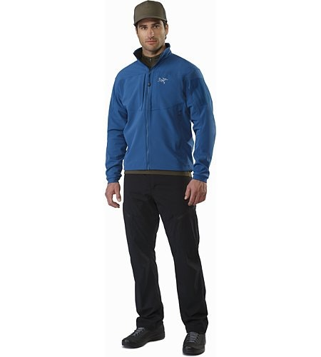 Gamma MX Jacket Hecate Blue Front View
