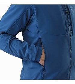 Gamma MX Jacket Hecate Blue Hand Pocket