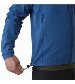 Gamma MX Jacket Hecate Blue Hem Adjuster