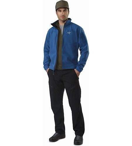 Gamma MX Jacket Hecate Blue Open VIew
