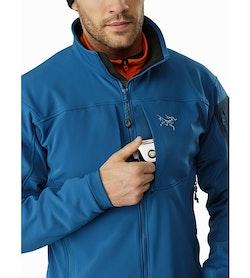 Gamma MX Jacket Iliad Chest Pocket