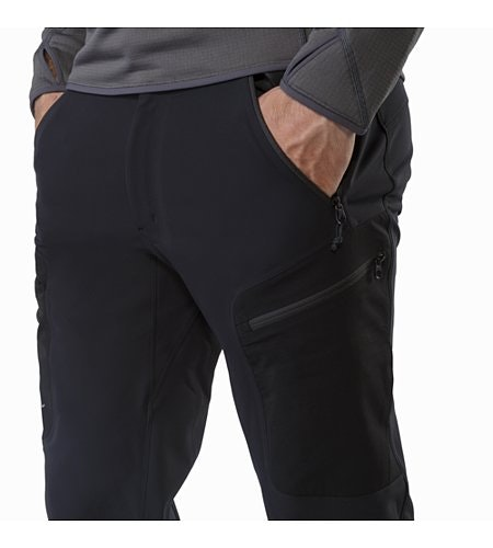 Gamma MX Pant Black Hand Pocket