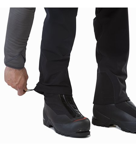 Gamma MX Pant Black Hem Adjuster