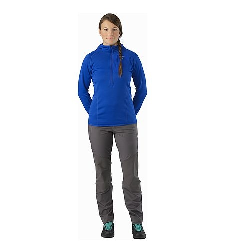 Gamma Rock Pant Women's Nickle Front View
