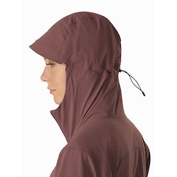 Gamma SL Hoody Women's Inertia Hood Side View