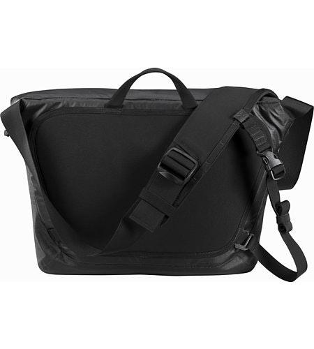 Granville 10 Courier Bag Black Suspension