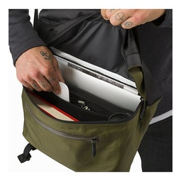 Granville 10 Courier Bag Bushwhack Main Compartment
