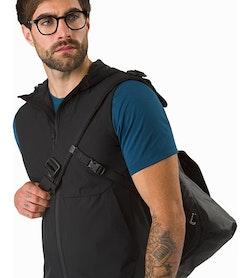 Granville 16 Courier Bag Black Secure Fit
