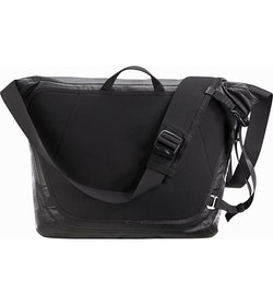 Granville 16 Courier Bag Black Suspension