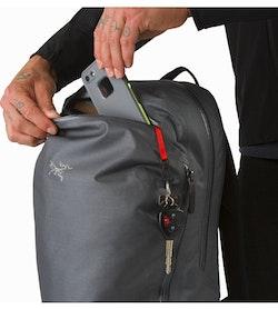 Granville 16 Zip Backpack Pilot Front Pocket