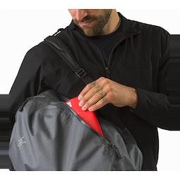 Granville 16 Zip Backpack Pilot Side Access