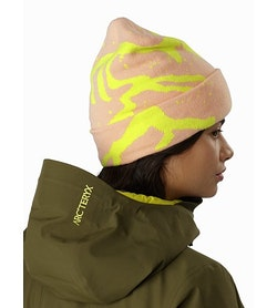 Grotto Toque Peach Sunshine Back View