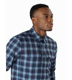 Gryson Shirt LS Balearic Sunset Collar