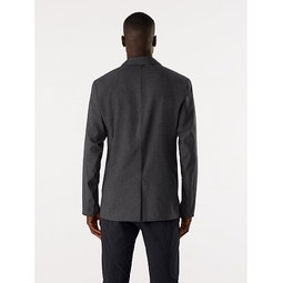 Haedn LT Blazer Graphite Heather Back View